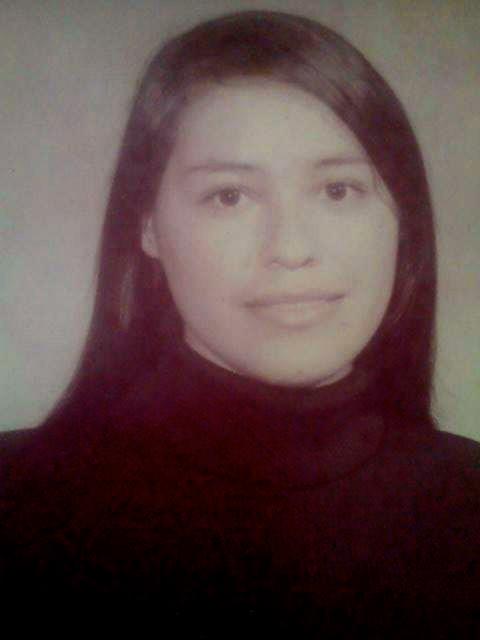 My mother, Josefina, 20 yrs. old.